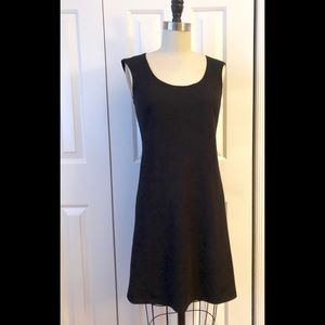 STUDIO M Classic black sleeveless A line Dress